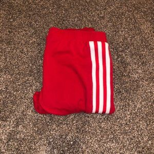 Adidas Red Trefoil Tights